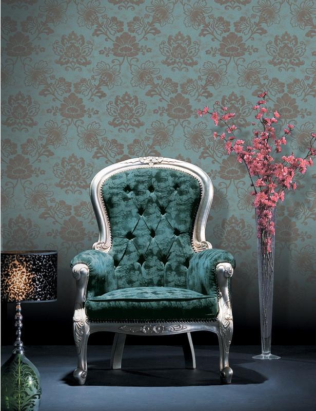 欧式低调奢华 客厅卧室壁纸