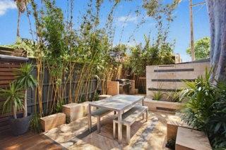 混搭风格时尚入户花园旧房改造家装图片