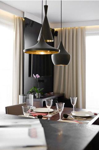 中式风格奢华客厅灯效果图