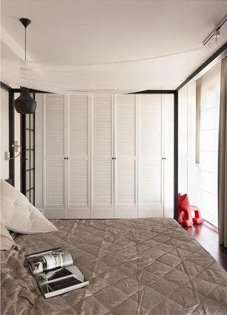 中式风格奢华卧室衣柜设计图
