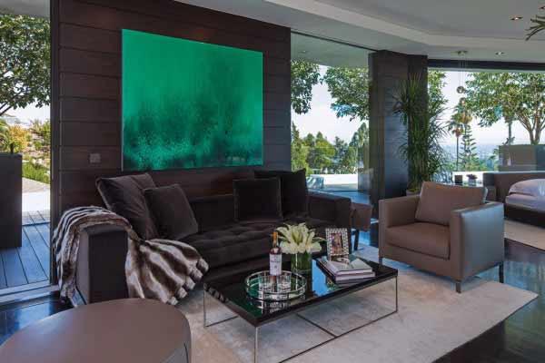 现代简约风格别墅奢华沙发效果图