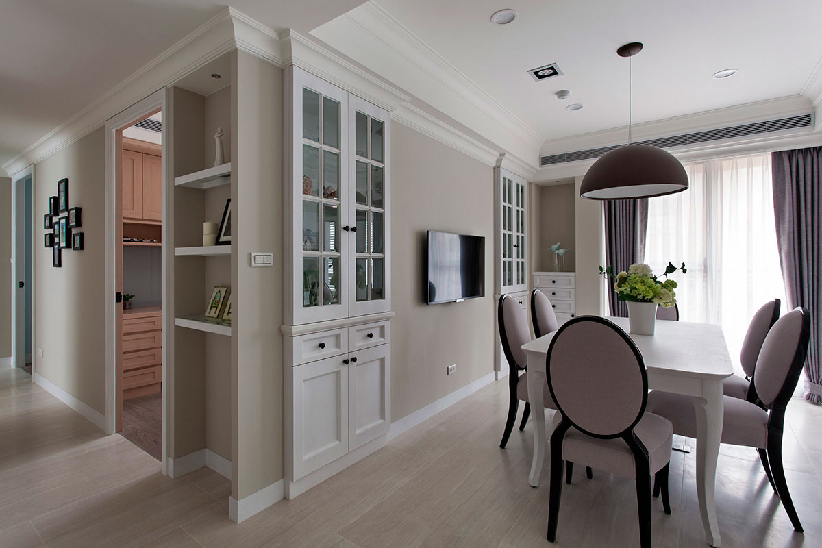 美式风格公寓温馨装修效果图