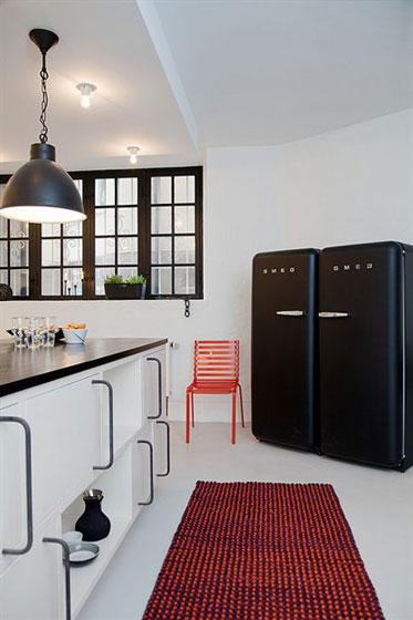 现代简约风格舒适整体厨房旧房改造家居图片
