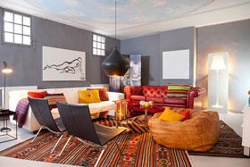 美丽而原始的地下室 200平方米现代瑞士公寓