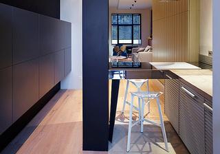 混搭风格80平米厨房旧房改造家装图