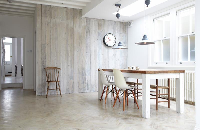 简约风格白领公寓梦幻白色餐厅装修图片
