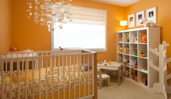 现代简约风格小户型艺术儿童房装修效果图