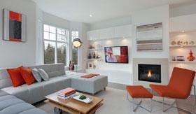 眩酷的颜色造个性化房间 多彩俏皮公寓设计精选