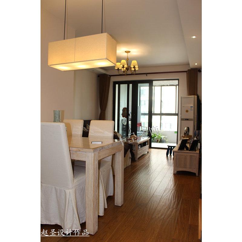 3万以下90平米简约三居室装修效果图,简约宜家 宜家装修案例效果图 高清图片