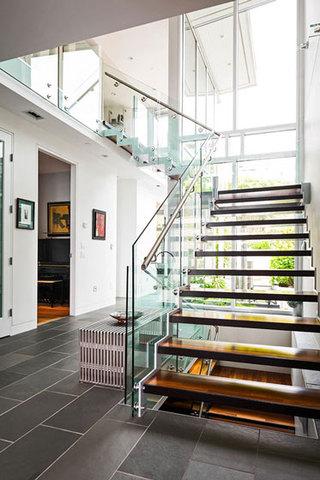 现代简约风格跃层时尚楼梯海外家居