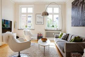 沐浴在阳光下的公寓 瑞典马尔默简约舒适公寓