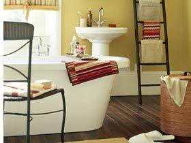 19个实用浴室存储案例