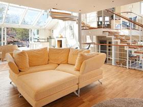 面朝大海 来自哥德堡的现代住宅装修效果图
