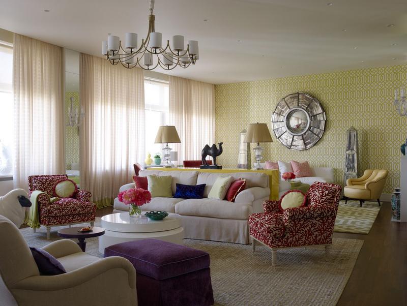 美麗溫馨的現代家庭公寓