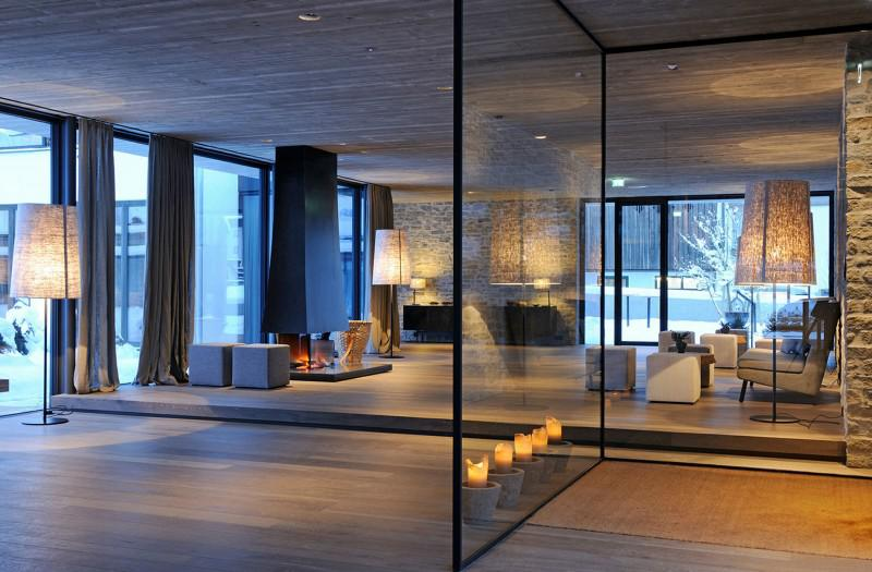 现代简约风格舒适客厅灯图片