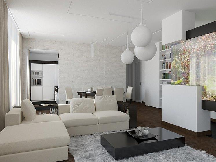 簡約時尚 莫斯科現代公寓