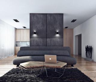 液晶单身公寓 莫斯科现代公寓