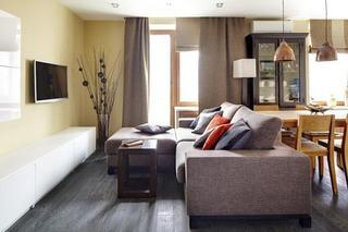 67平米小户型 现代舒适公寓