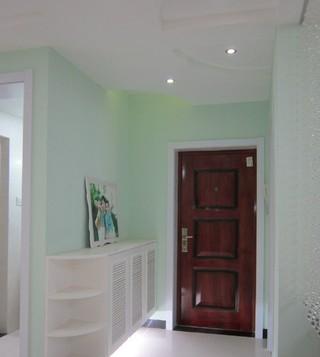 7万元打造专属小清新 100平米三室两厅