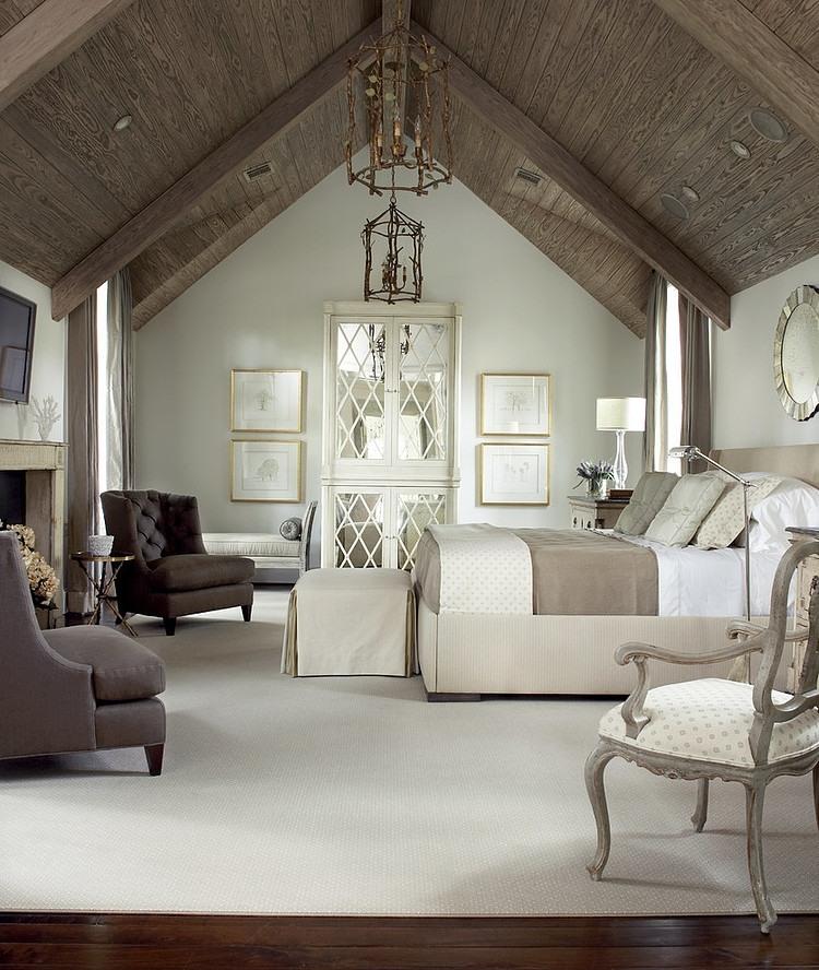 乡村复古文艺范儿卧室装修效果