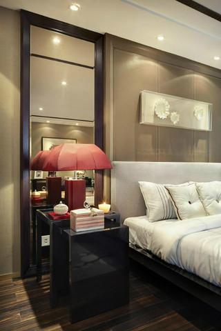 现代中式别墅样板房 时尚雅致格局简约奢华