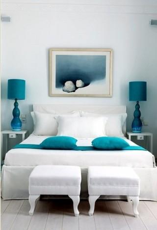 喜爱蓝色 地中海风格卧室设计