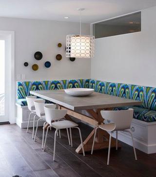 现代简约风 打造复式装修餐厅