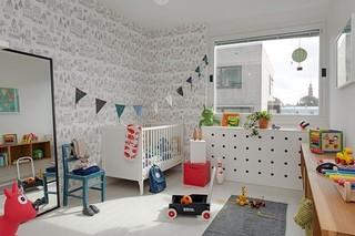 制造巧妙的收纳空间 85平北欧现代公寓
