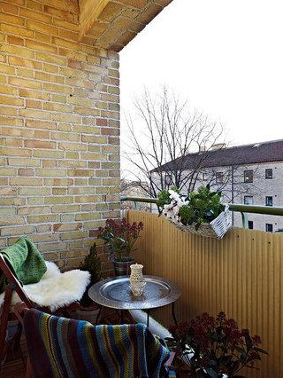 一室一厅的瑞典公寓  小清新北欧风格家