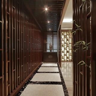 160平米的新中式之家 古典与时尚的结合