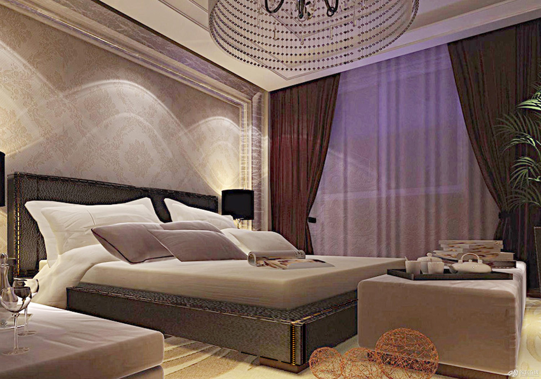 温馨的主卧室 温暖的家居生活