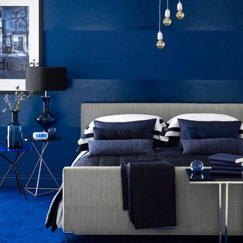 蔚蓝的海洋,温馨的卧室背景墙