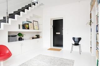 瑞典132平复式阁楼 田园诗般的完美搭配