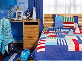 蓝色家居 小户型装修的优雅体验