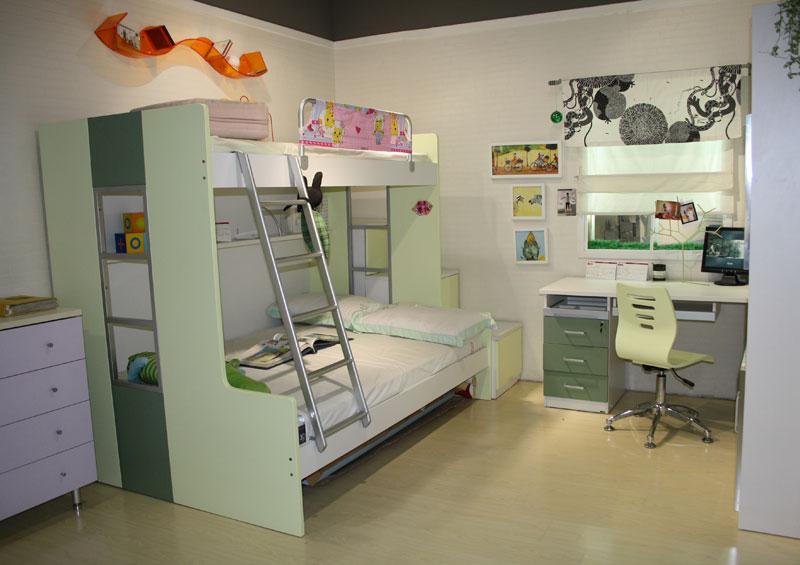 四款儿童房样板间 精彩搭配温馨小空间