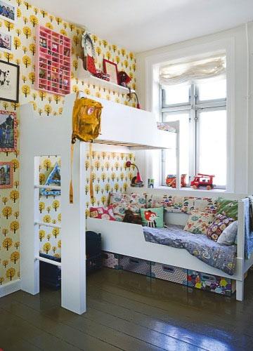 儿童房粉色可爱温馨空间