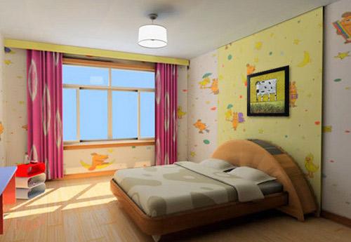 儿童房里的创意儿童床