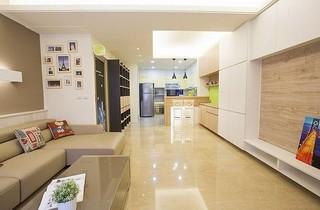 120平简约时尚公寓 自然舒适清新范儿