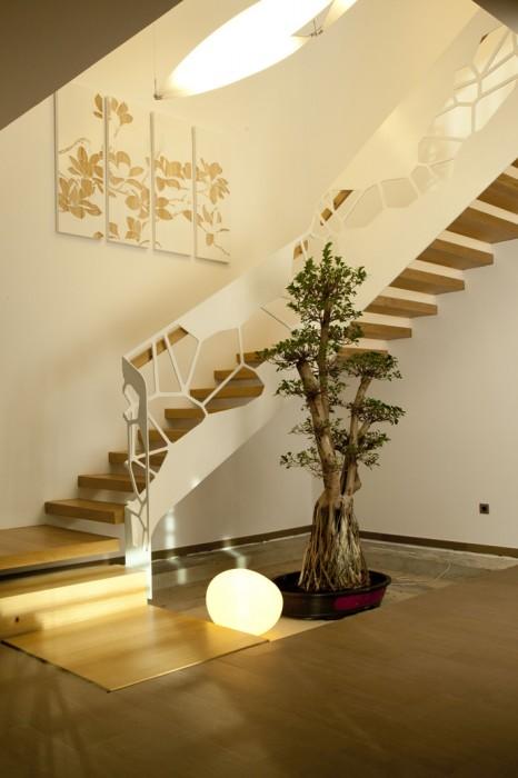 最美楼梯设计 9个漂亮的室内楼梯案例