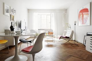 专属于白色的奢华 小户型北欧公寓欣赏