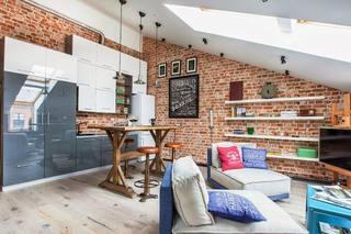 40平创新阁楼公寓 小而舒适的温馨住宅