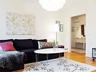75平米清新公寓 卧室书房设计极富品位