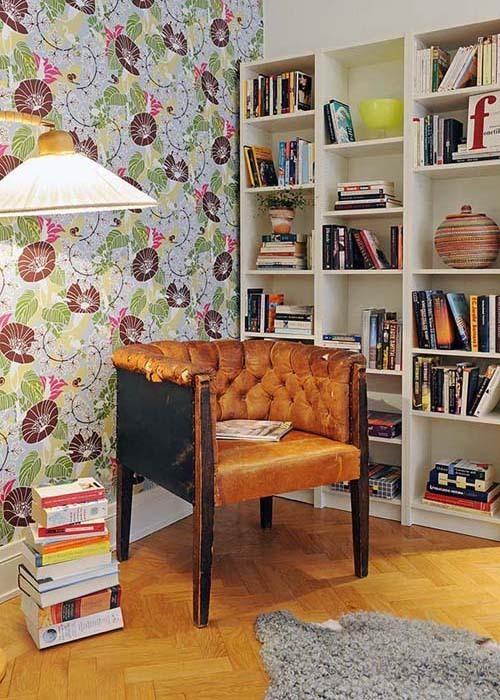 色彩绚丽的书房设计 给你的书房化化妆