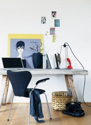 北欧风格书桌