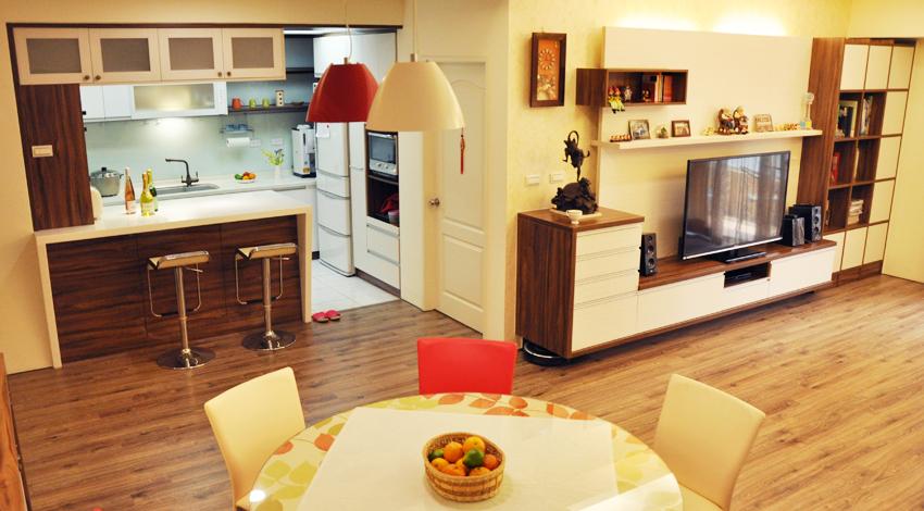 50平米超温馨住宅 温暖舒适的生活空间