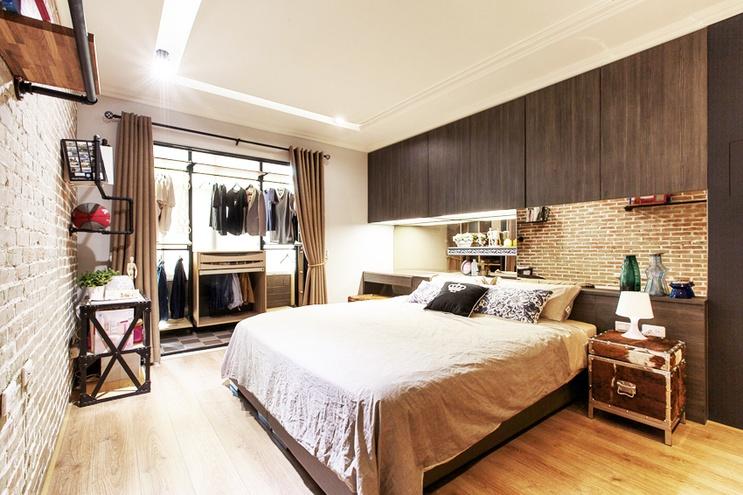21平米的绿色小户型 巧妙隔出两间卧室