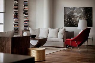 现代创意复式住宅 典雅宁静灰色调空间
