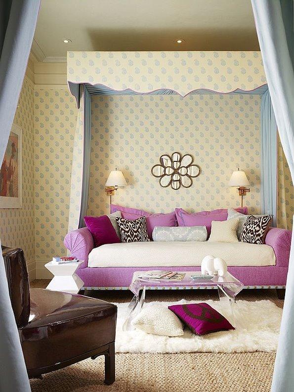 非常清新的床品主题 9张卧室美图