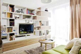 40平米小户型公寓 抹茶色调清新家