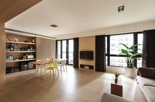 台湾淡雅清新公寓设计